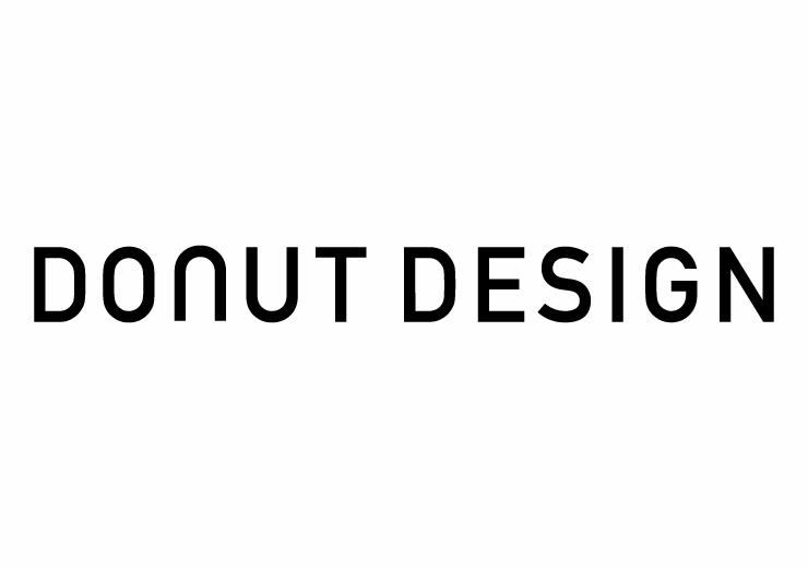 ロゴ作成のドーナッツデザイン